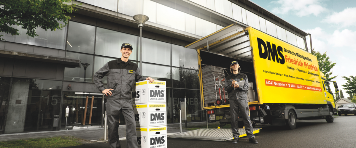 Your removal company for Darmstadt and Rhine-Main